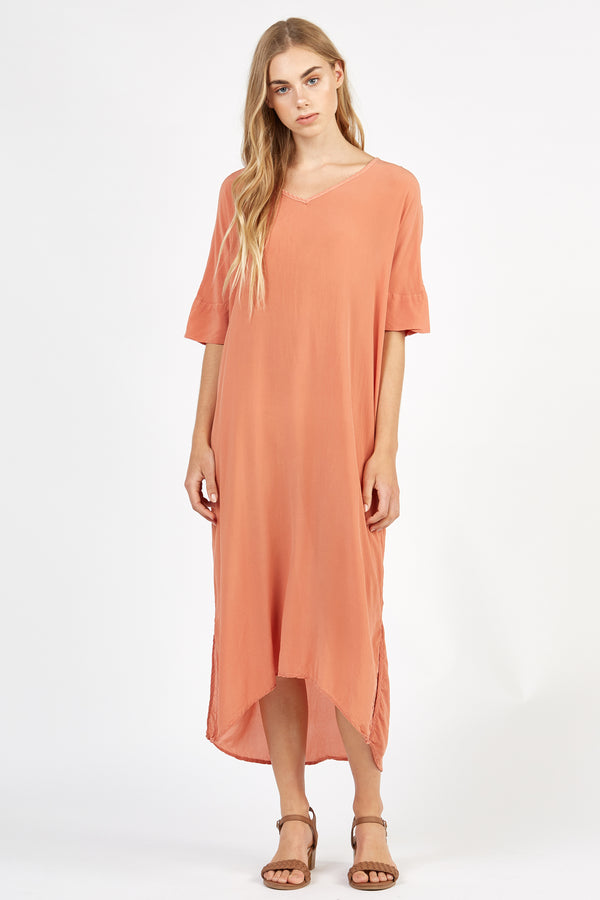 WILLA DRESS - PEACHES - SIZE 1 LEFT