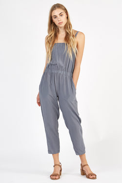 BENIC JUMPSUIT - FOSSIL GREY