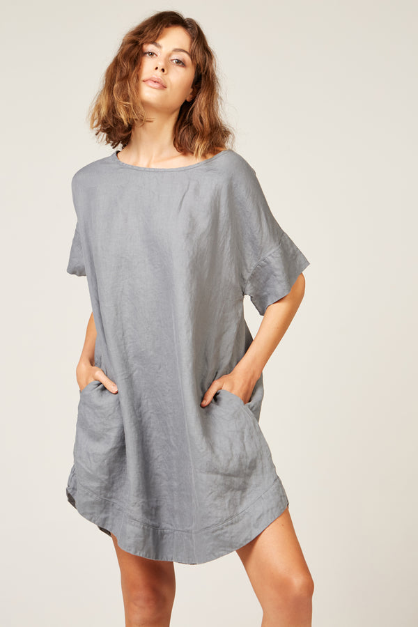 LYK DRESS - CHARCOAL GREY