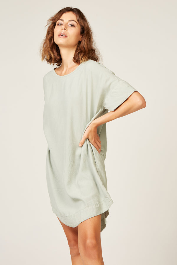 BEUT TEE DRESS - PISTACHIO