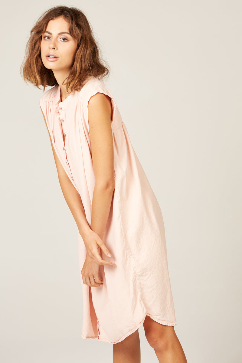 OTTO DRESS - CORAL PINK