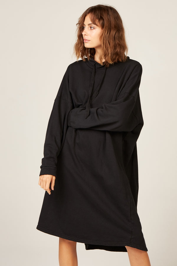 HIWA JUMPER DRESS - NOIR