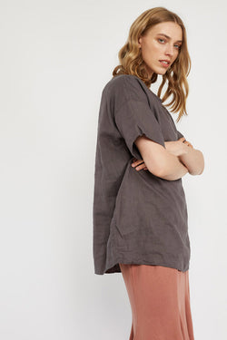 LIN TOP - WOODEN