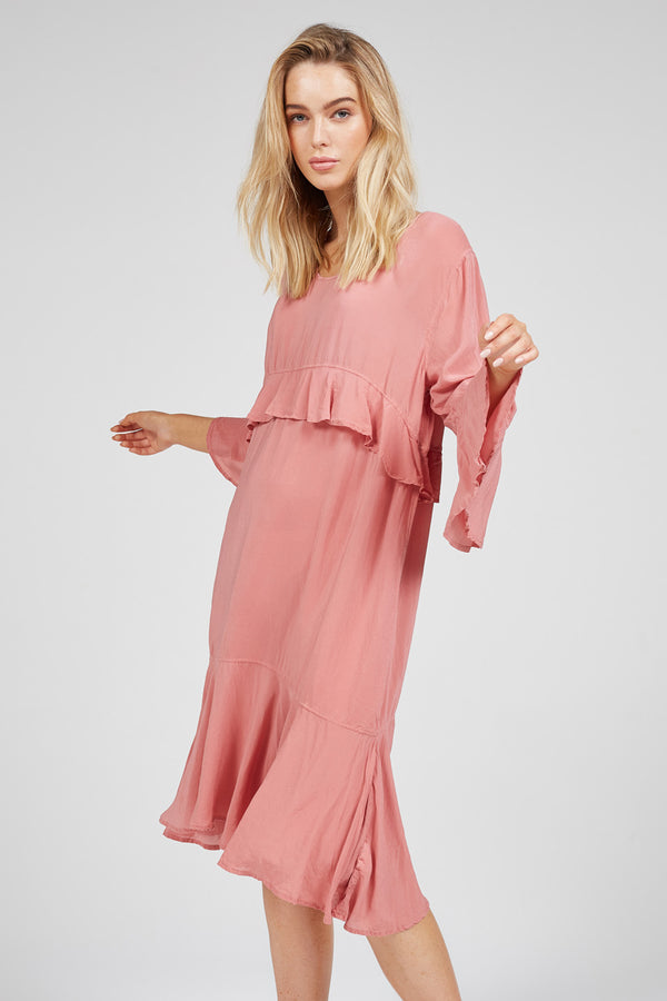 ZUKI DRESS - SUNKISSED PINK