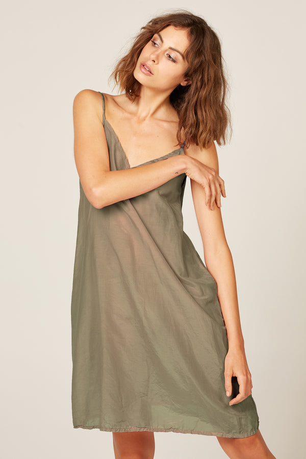 CANNE SLIP - KHAKI (FINAL SALE)