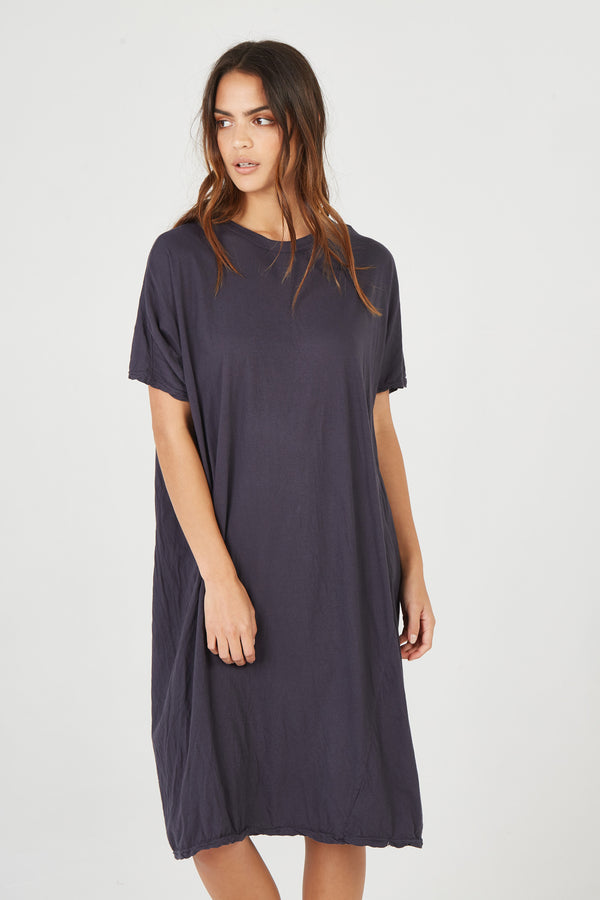LILA DRESS - SMOKED CHARCOAL
