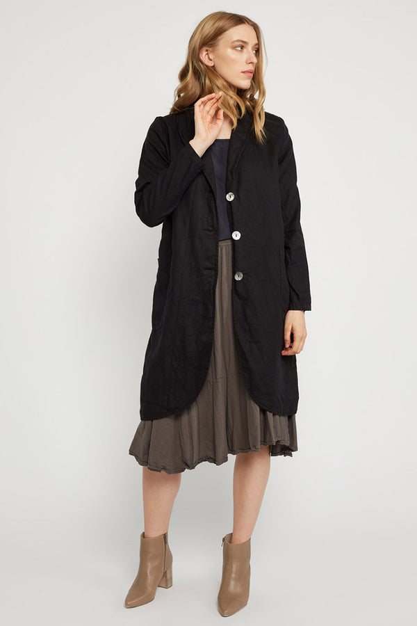 LONG LIN JACKET - NOIR
