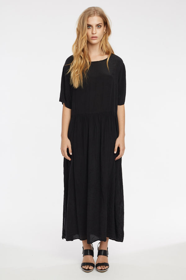 GRUNDY DRESS - NOIR
