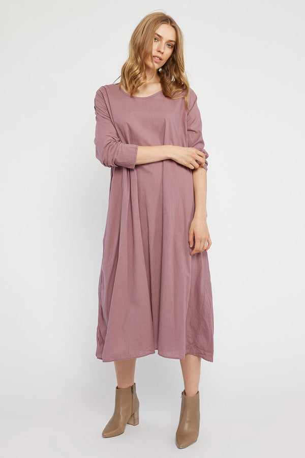RUBY DRESS - PLUM