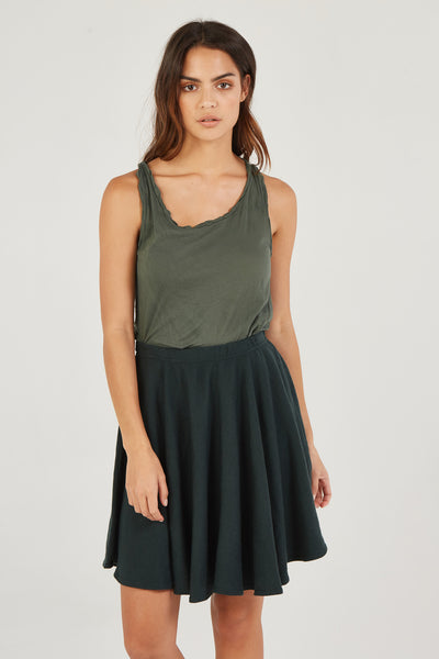 LUXE SKIRT - JUNIPER