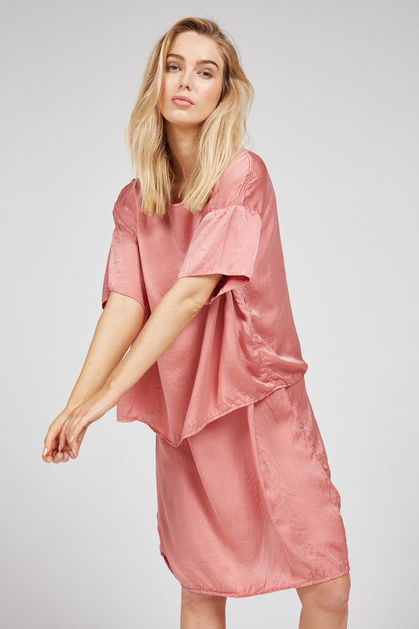 SUNCHASER TOP - SUNKISSED PINK