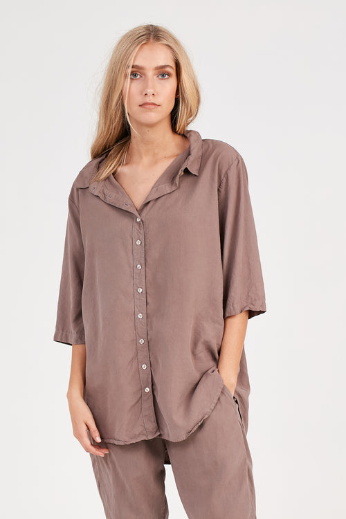 KUL SHIRT - EXPRESSO BROWN