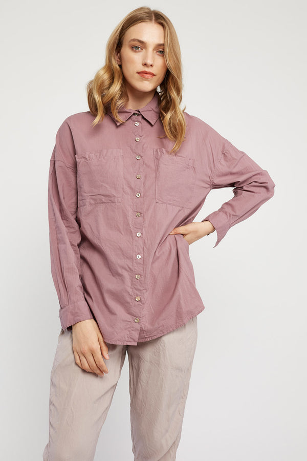 RUBY SHIRT - PLUM