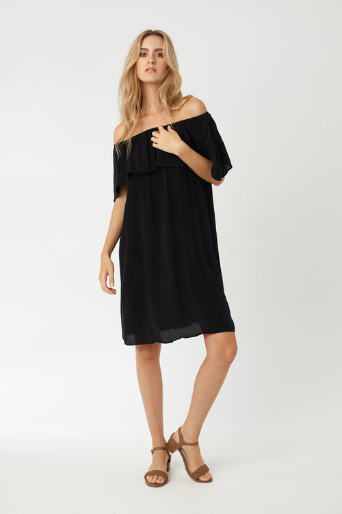 CRUZ DRESS - NOIR