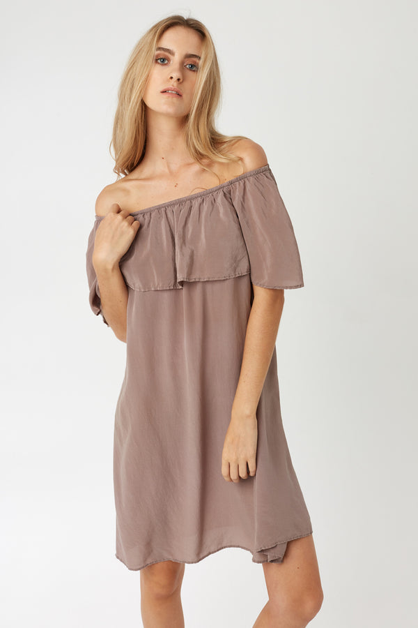 CRUZ DRESS - DRIFTWOOD - SIZE 1 LEFT