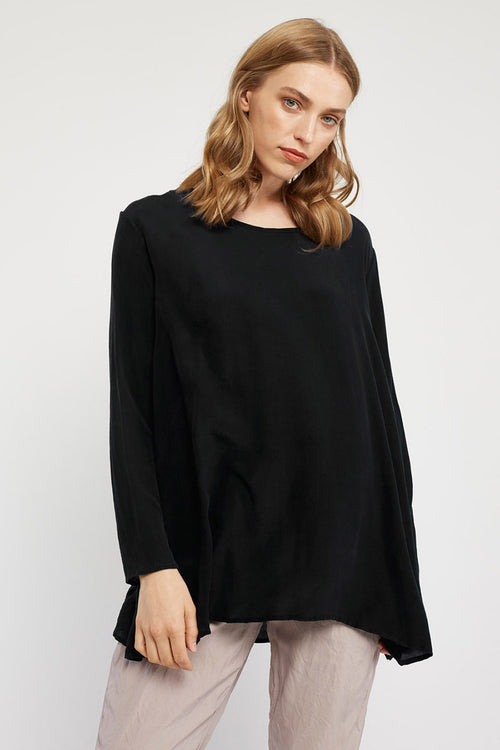 GIGI L/S TOP - NOIR