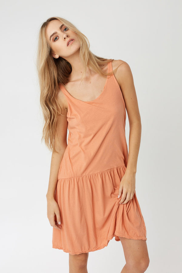 SILV DRESS - TANGERINE (FINAL SALE)