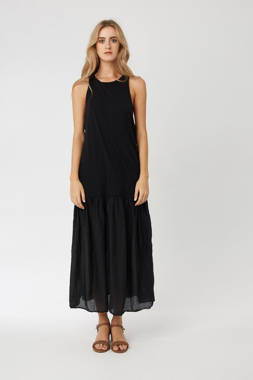 GYPSY DRESS - NOIR - SIZE 1 LEFT