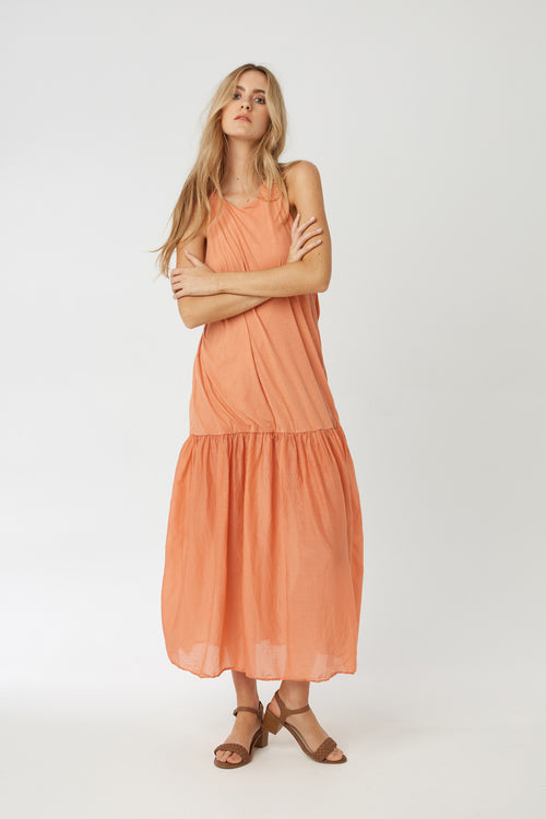 GYPSY DRESS - TANGERINE