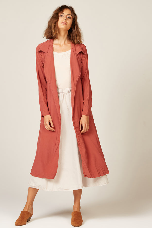 DUSTER COAT - ROSE
