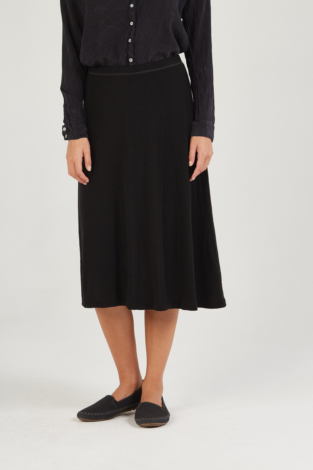 BOWIE SKIRT - BLACK