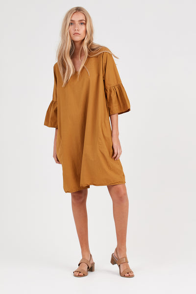 COCOON DRESS - GOLDEN SUNSET - PRE ORDER
