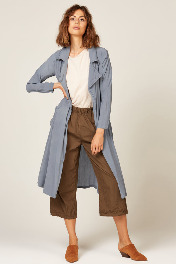 DUSTER COAT - EGGSHELL BLUE
