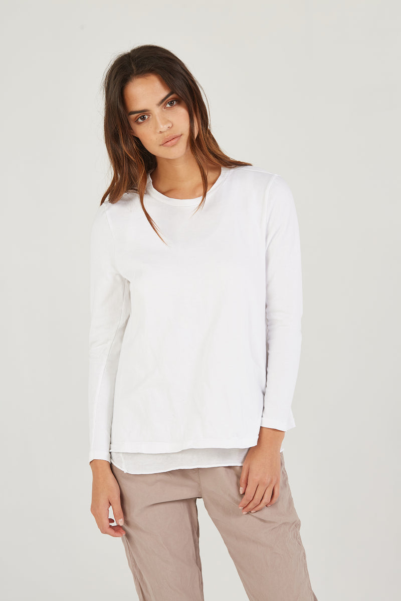 SHIFT TOP - BLANC