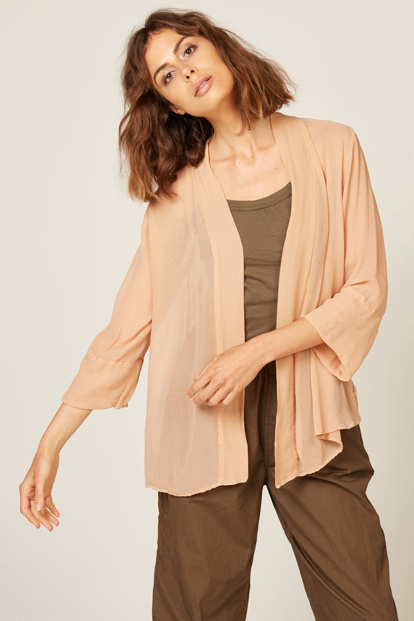 TALLOWS CARDI - HONEY (FINAL SALE)