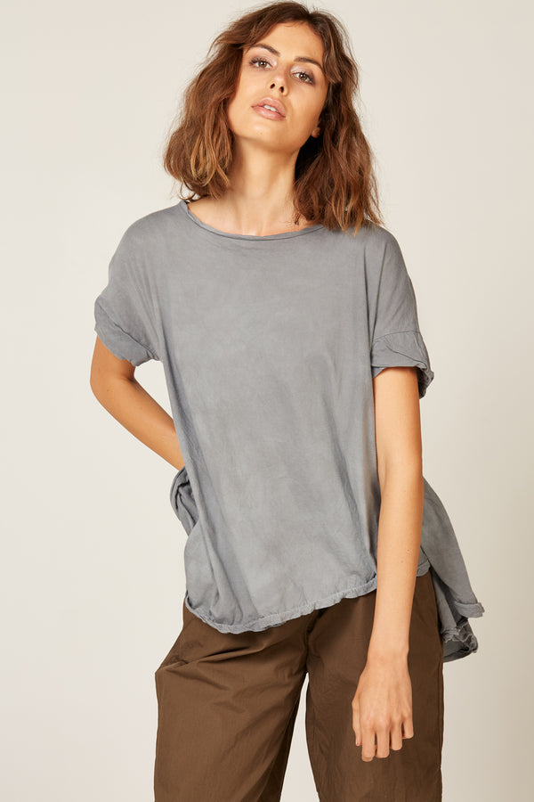 POP TEE - STORMI GREY