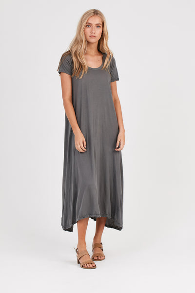 QUOET TEE DRESS - STARGAZE GREY