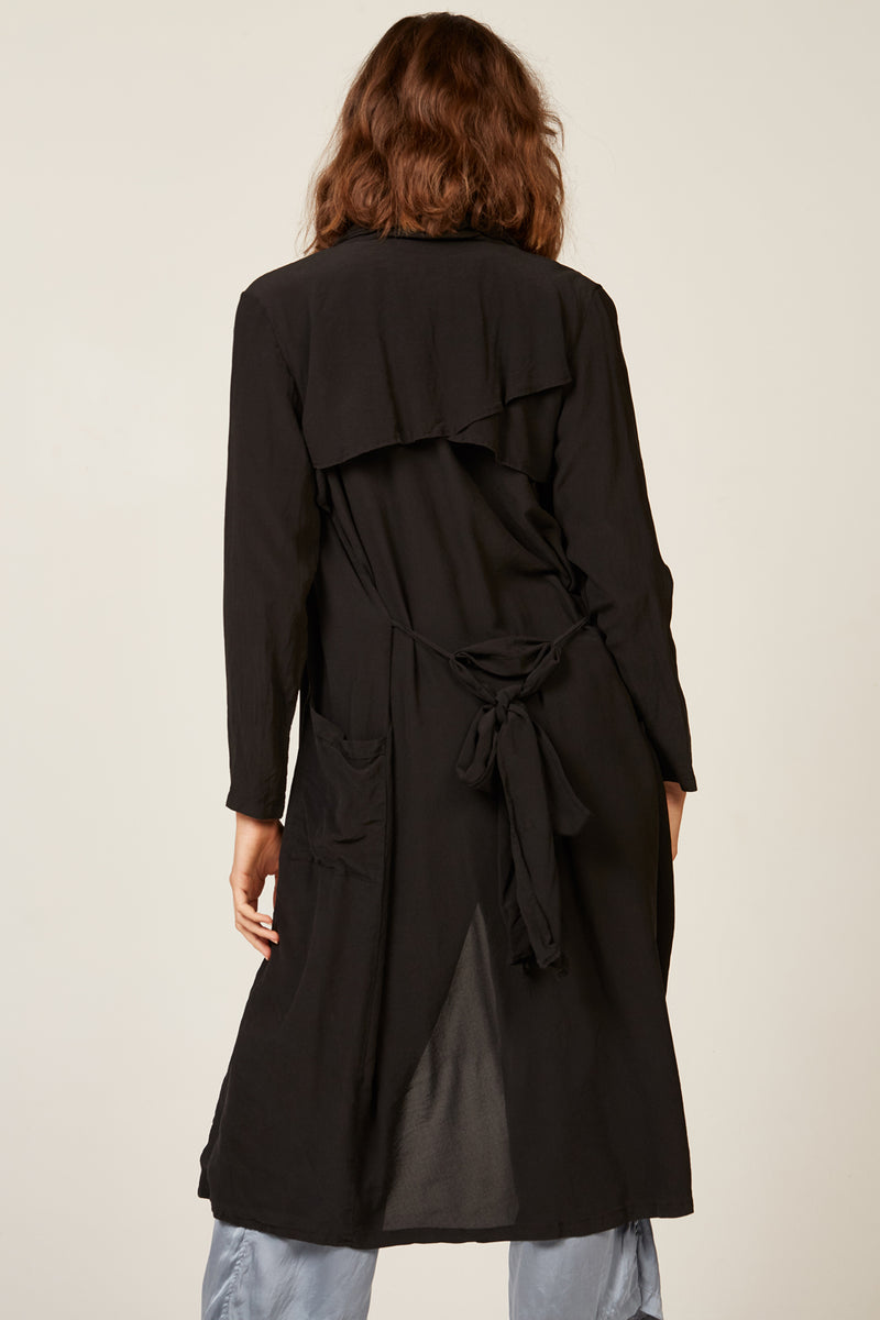 DUSTER COAT - NOIR