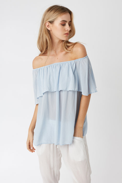 CRUZ TOP - SEA SPRAY - SIZE 2 LEFT