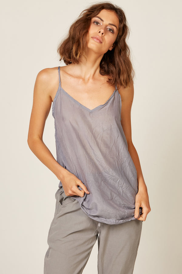 CANNE CAMI - WASHED CHARCOAL