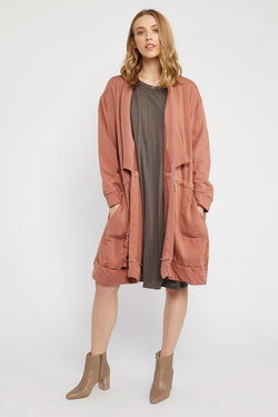 LOTUS ANORAK - BRICK