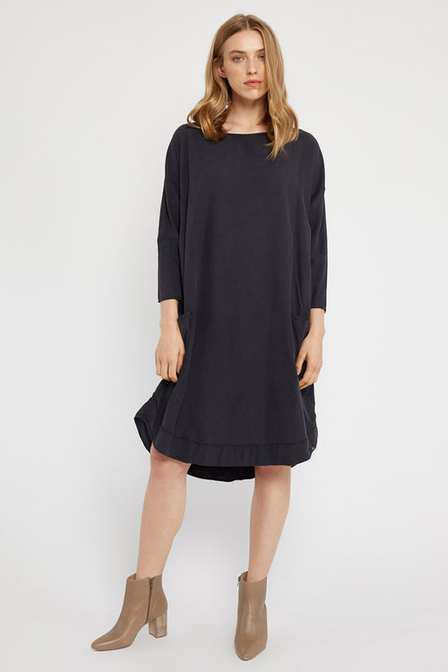 POCKET DRESS - NOIR