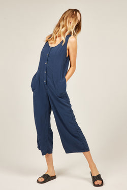 YOYO JUMPSUIT - NAVY