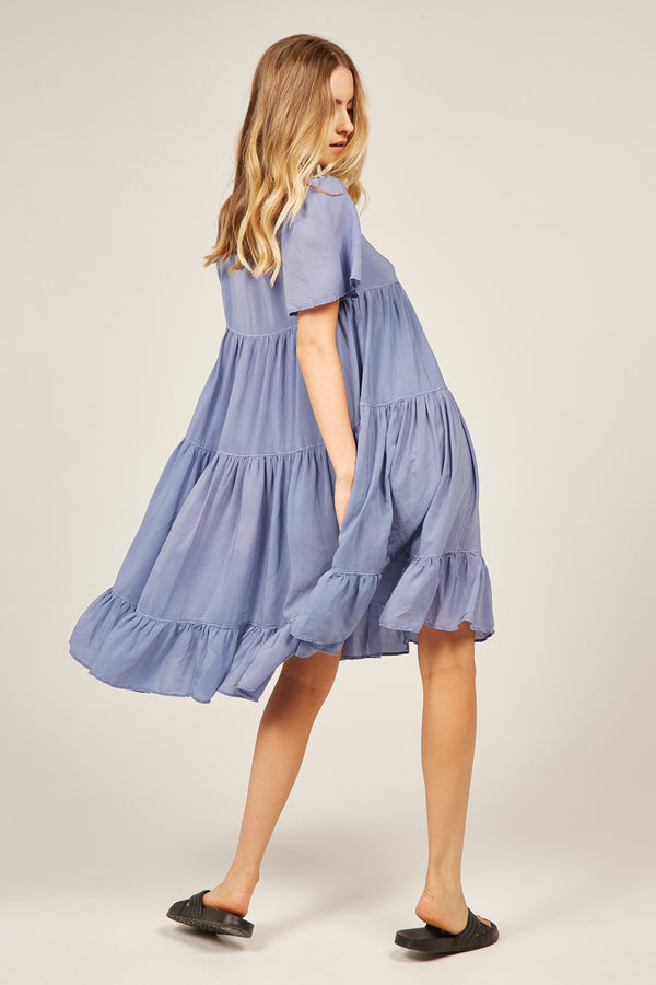 PRETTY DRESS - SKY BLUE