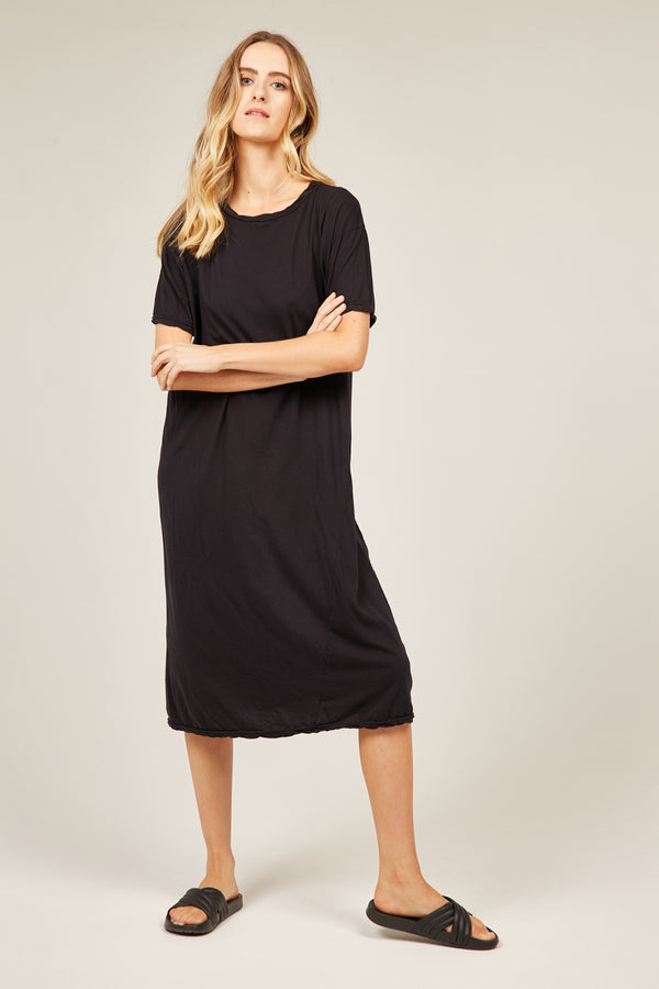 EVERYDAY TEE DRESS - NOIR