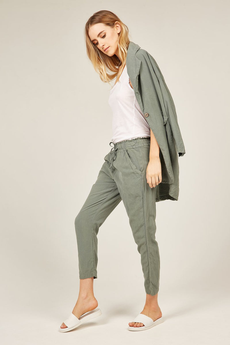 POCKET PANT - JADE