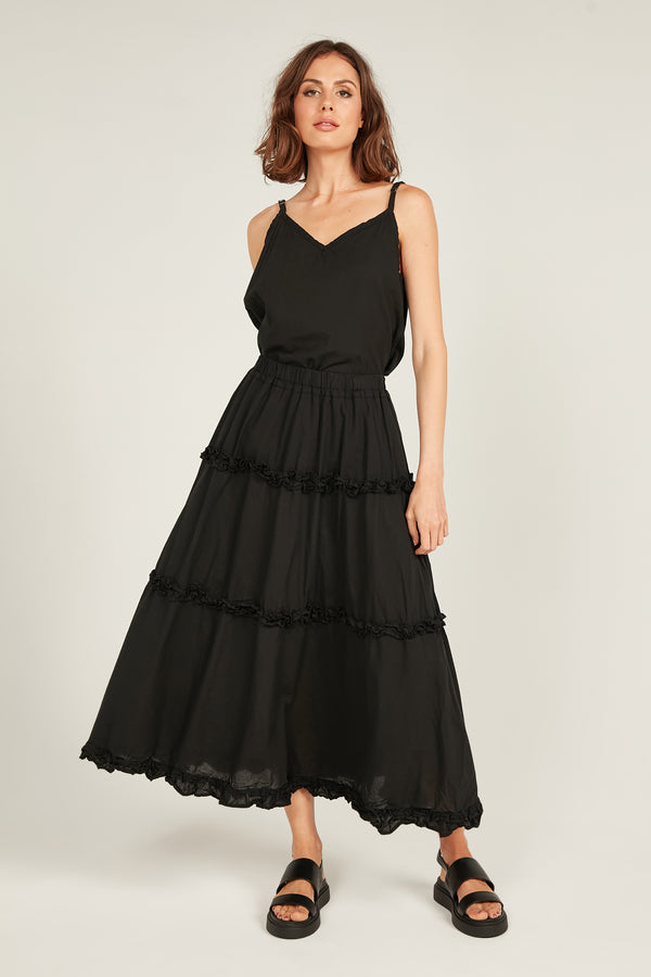 HASTING SKIRT - NOIR
