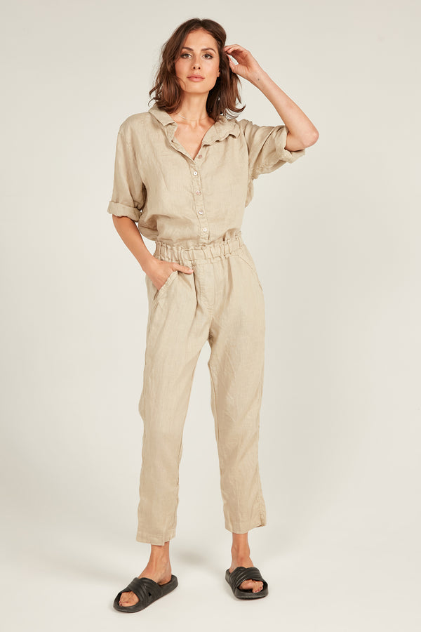 SEASIDE PANT- CAMEL