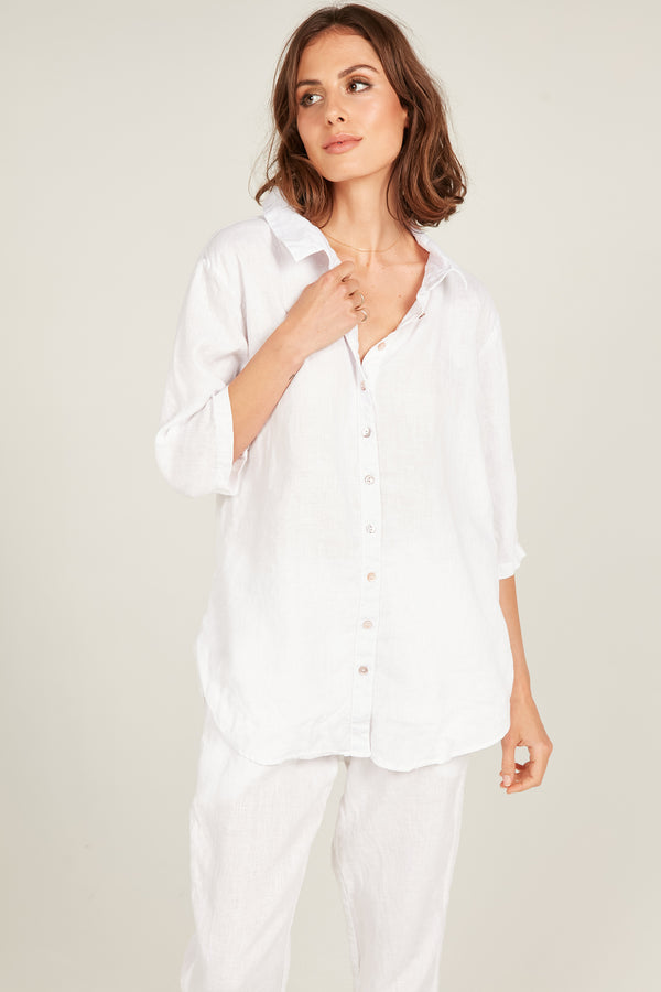 SEASIDE SHIRT - BLANC