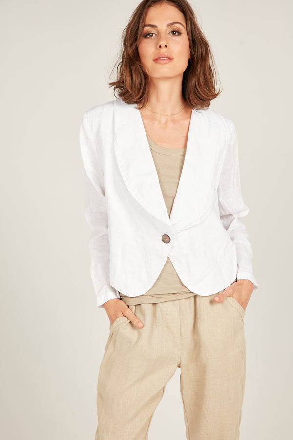 SEASIDE BLAZER - BLANC