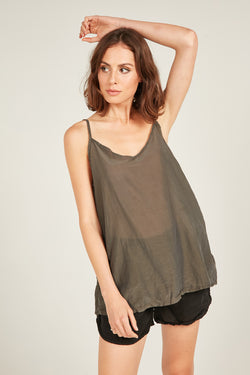 CANNE CAMI - OLIVE