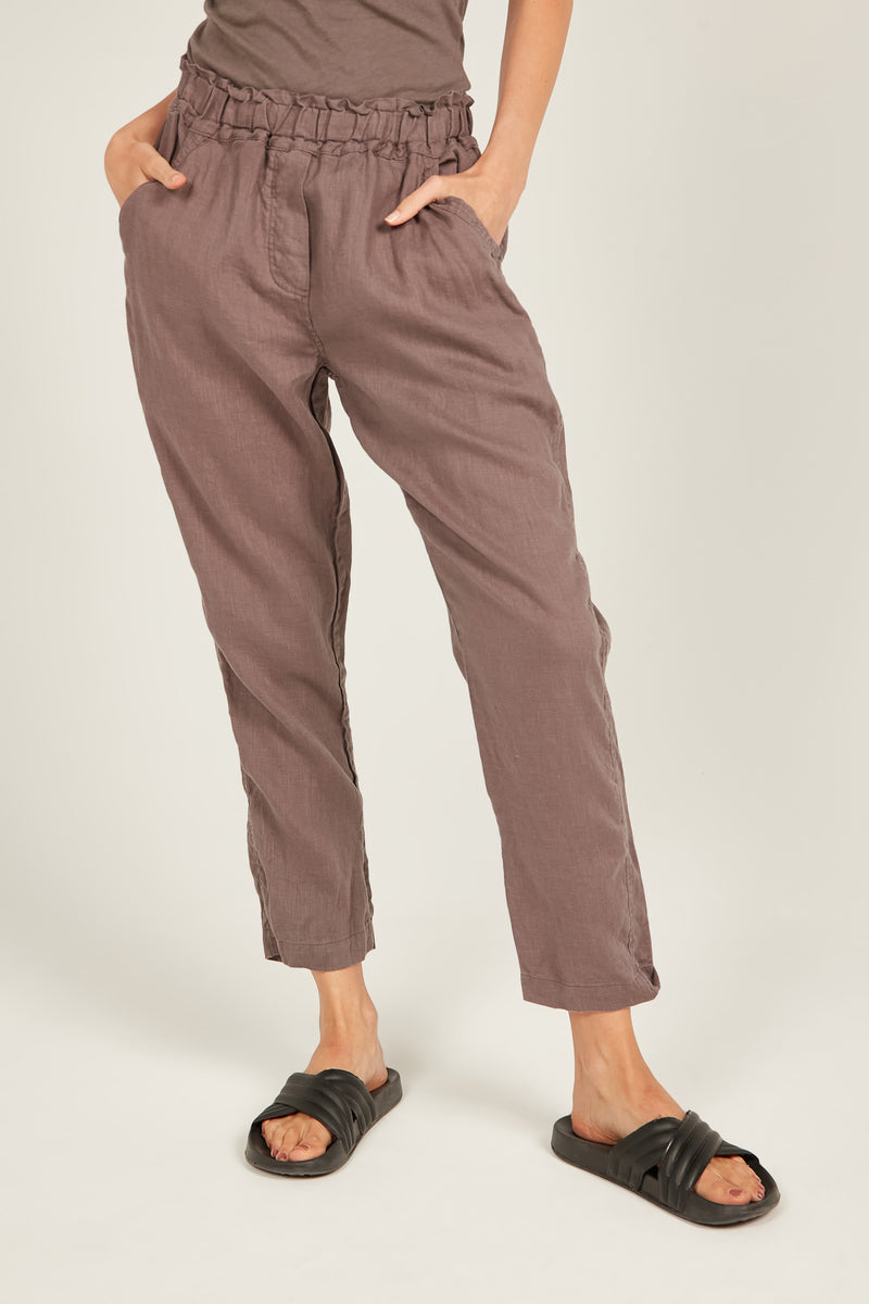 SEASIDE PANT- ROCKY BROWN