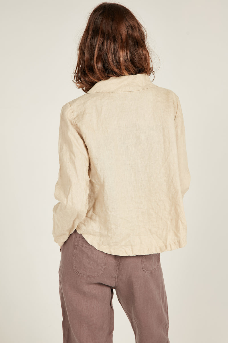 SEASIDE BLAZER - CAMEL