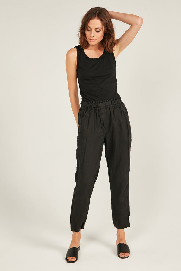 SEASIDE PANT- NOIR
