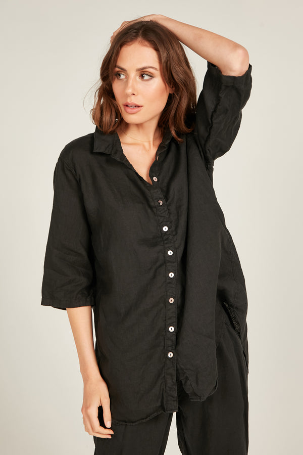 SEASIDE SHIRT - NOIR