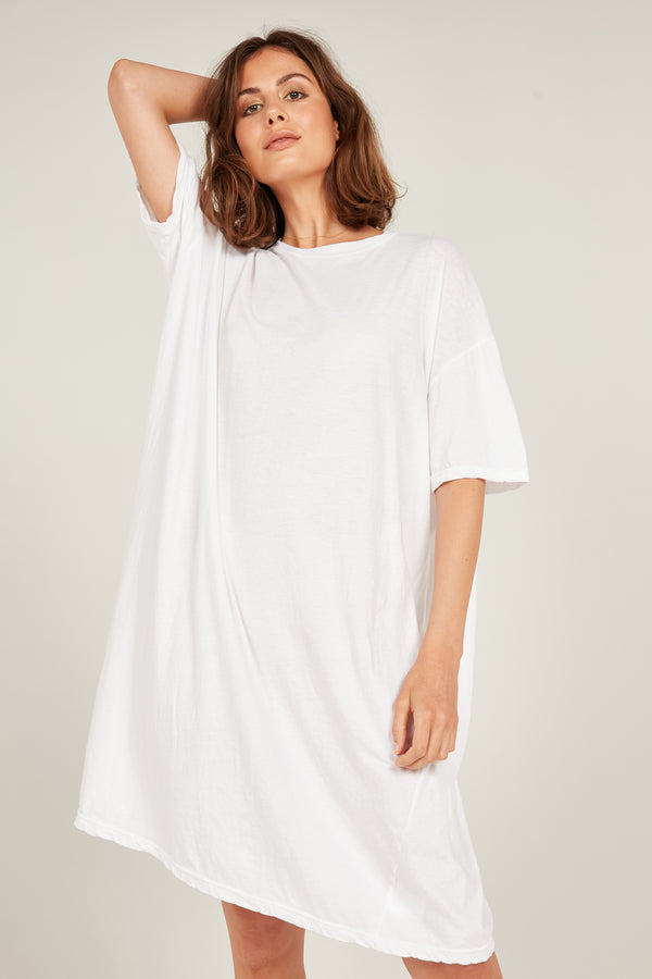 JUNIE DRESS - BLANC